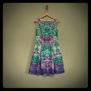 Shelli Segal flower dress